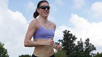 Zuzana Hejnová má důvod k úsměvu, po zranění nohy už opět běhá.