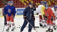 Na trenérar české hokejové reprezentace Vladimíra Vůjtek čeká na Karjale velká premiéra