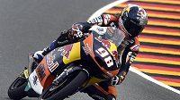 Karel Hanika si pro Velkou cenu Německa vyjel nejlepší umístění na startovním roštu ve své premiérové sezóně v kategorii Moto3.