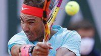 Úsilí španělského tenisty Rafaela Nadala.