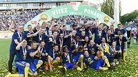 Fotbalisté Zlína vyhráli v Olomouci domácí pohár MOL Cup.