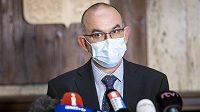 Nový ministr zdravotnictví Jan Blatný nastoupil 29. října 2020 do úřadu.