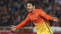 Lionel Messi věří, že Barcelona má na to vyřadit AC Milán.