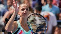 Tenistka Karolína Plíšková zvládla bez problémů osmifinále grandslamového US Open.