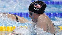 Americká plavkyně Lilly Kingová.