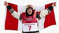 Kanadský snowboardista Sebastien Toutant, první olympijský vítěz v disciplíně Big Air.