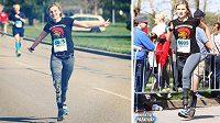 Taciana Chvickovová běh miluje.