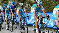 Cyklista Roman Kreuziger na Giro d´Italia.