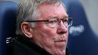 Trenér Alex Ferguson často nejde pro ostřejší slovo daleko