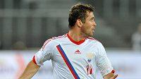 Ruský fotbalista Alexandr Keržakov.