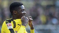 Ousmane Dembélé ještě v dresu Dortmundu