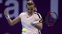 Petra Kvitová si v žebříčku WTA znovu polepšila, už je devátá.