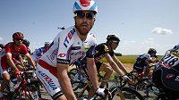 Ital Luca Paolini při šesté etapě Tour de France.