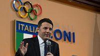 Premiér Matteo Renzi potvrdil, že se Italové budou ucházet o pořádání olympiády v roce 2024.