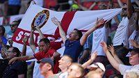 Fanoušci anglické fotbalové reprezentace před zápasem s Chorvatskem na EURO (ilustrační foto)
