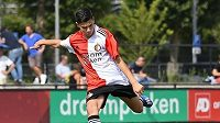 Nizozemský fotbalista Shaqueel van Persie v dresu Feyenoordu Rotterdam. Zdroj: Instagram @shaqueelvanpersie