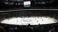 Zápas Kladno - Slavia sledovala zaplněná O2 arena.