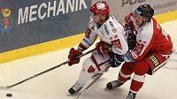 Zleva Kamil Kreps z Třince, Roman Vlach z Olomouce.