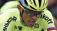 Smůla zatím provází Španěla Alberta Contadora, ani ve druhé etapě Tour se nevyhnul pádu.