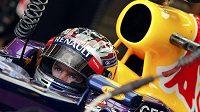 Sebastian Vettel zajel nejrychlejší čas v pátečních trénincích na Velkou cenu USA v Austinu.