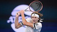 Alexander Zverev zatím na ATP Cup v Austrálii formu marně hledá.