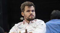 Magnus Carlsen na MS v bleskovém šachu