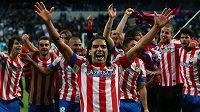 Útočník Radamel Falcao zřejmě brzy vymění dres Atlétika Madrid za Monako.