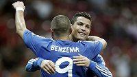 Cristiano Ronaldo se se spoluhráčem Karimem Benzemou podíleli na vysoké výhře Realu Madrid v duelu Ligy mistrů s Galatasarayem Istanbul.