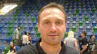 Trenér Luboš Hudák.