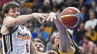 Pavel Pumprla z ČEZ Basketball Nymburk.
