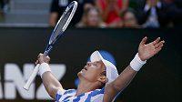 Dobojováno! Tomáš Berdych je na Australian Open poprvé v kariéře v semifinále.