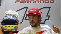 Fernando Alonso na Ferrari ovládl první páteční trénink na Velkou cenu Singapuru.