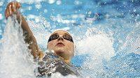 Favorizovaná Maďarka Katinka Hosszúová opanovala závod na 200 m znak.