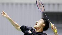 Japonský badmintonista Kento Momota, současná světová jednička, chce uspět na olympiádě v Tokiu.