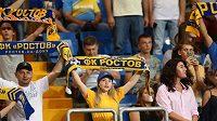 Fanoušci fotbalistů Rostova.