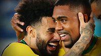 Brazilští fotbalisté útočník Malcom a záložník Claudinho se musejí vrátit z reprezentačního srazu do Petrohradu.
