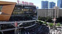 T-Mobile Arena v Las Vegas by měla být jedním ze dvou stadionů hostících play off NHL.