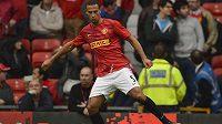 Obránce Manchesteru United Rio Ferdinand