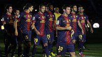 Fotbalisté Barcelony