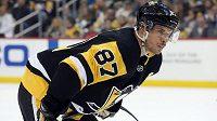 Kapitán Pittsburghu Sidney Crosby.