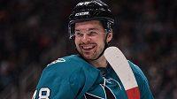 Tomáš Hertl se po zranění už znovu těší na led.
