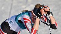 Zklamaná Rakušanka Teresa Stadloberová po olympijském závodě na 30 km.