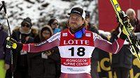 Vítěz Kjetil Jansrud.