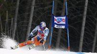 Norský lyžař Aksel Lund Svindal vyhrál superobří slalom ve Val Gardeně.