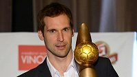 Brankář Petr Čech získal již poosmé Zlatý míč v anketě Klubu sportovních novinářů.