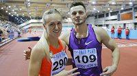 Atleti Ruska Nina Morozovová a Konstantin Šabanov.