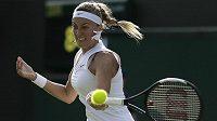 Lvice začala vítězně. Tenistka Petra Kvitová zvládla po zranění předloktí levé ruky vstup do Wimbledonu výtečně.