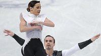 Ruská krasobruslařská dvojice Xenia Stolbovová a Fjodor Klimov ovládla na mistrovství Evropy krátký program.
