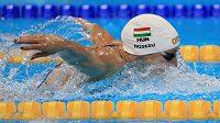 Maďarská plavkyně Katinka Hosszúová měnila v Riu světové tabulky.