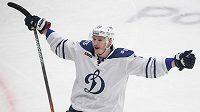 Hokejový útočník Dmitrij Jaškin patří k nejlépe placeným hráčům KHL.